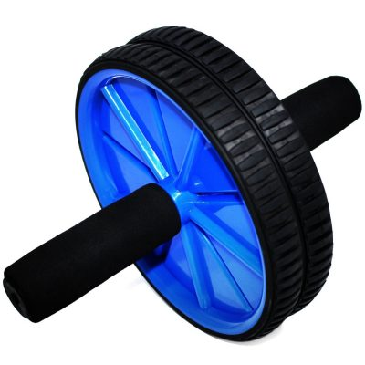 Fitness Master Ab Wheel Roller with Knee Mat - Easy Assembly
