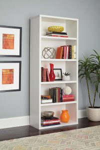 ClosetMaid-13504-Decorative-5-Shelf-Bookcase
