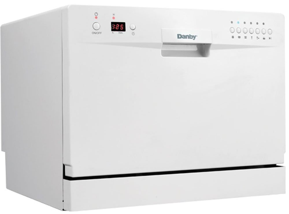 Danby DDW611WLED Countertop Dishwasher - White - Top 7 Best Dishwashers in 2020 Reviews