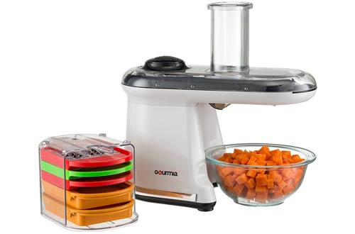 Electric Mandoline Food Dicer Chopper Slicer Grater and Shredder