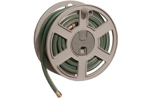 Garden Hose Capacity Wall-Mounted Sidetracker Hose Reel
