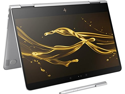 HP Spectre x360-13t Stylus(7th Gen. FHD, Windows 10 Windows Ink) 2-in-1 13.3 inch Tablet (8G 256G SSD - Silver)- Top 9 Best Ultrabooks in 2018 Reviews for thinnest and lightest with a great performance