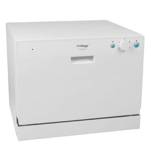 Koldfront PDW60EW 6 Place Setting Countertop Dishwasher - White