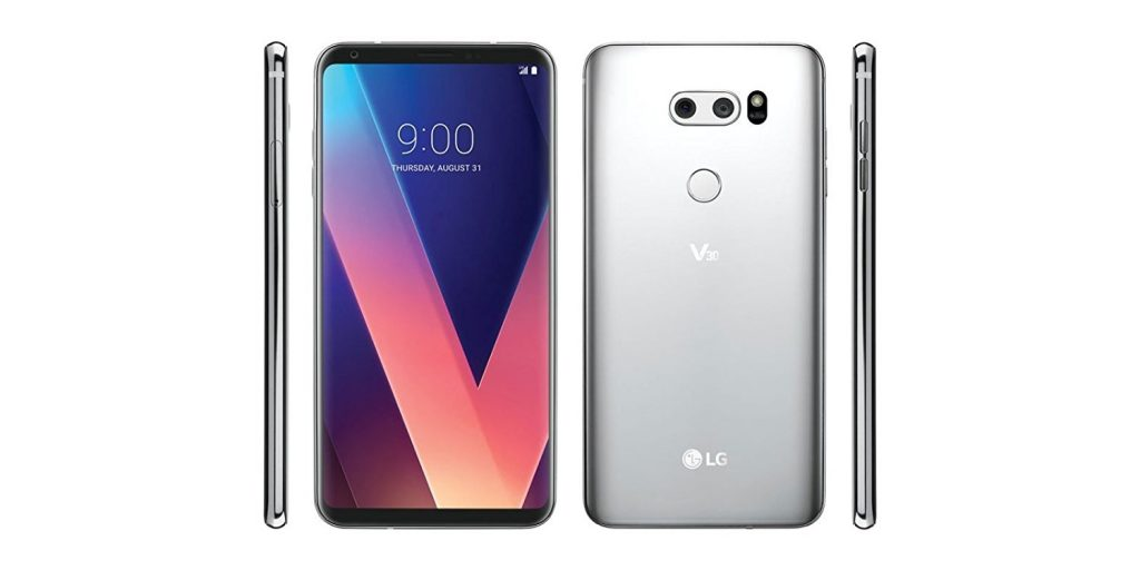 LG V30+ H930DS 128GB-4GB Dual Sim Factory Unlocked GSM Smartphone - International Version - No Warranty in the US (Silver)