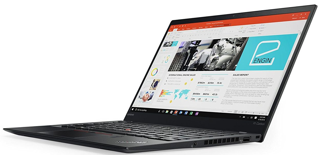 Lenovo ThinkPad X1 Carbon (5th Gen) 20HR000FUS 14 inch FHD (1920x1080) Display - Intel i7-7600U Processor, 16GB RAM, 512GB PCIe SSD, Windows 10 Pro
