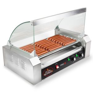 Olde-Midway-Electric-Machine-900-Watt Hot Dog Cooker