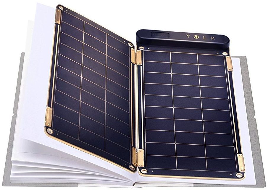 Solar Paper + Pouch, Paper-thin and Light Portable Solar Charger with Ultra-High-Efficiency (5W) - Top 5 Best Portable Solar Power Chargers in 2017 Reviews