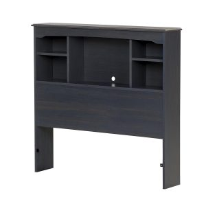 South-Shore-Bookcase-Headboard-Blueberry