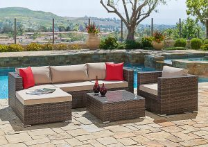 Suncrown-Furniture-Sectional-All-Weather-Waterproof Outdoor Sofa