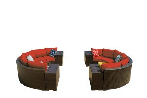 Vida-Outdoor-Sectional-Terracotta-Cushions