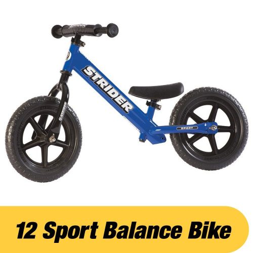 12 Sport Balance Bike, Ages 18 Months to 5 Years-Balance Bikes