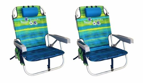 2 Tommy Bahama Backpack Cooler Chair
