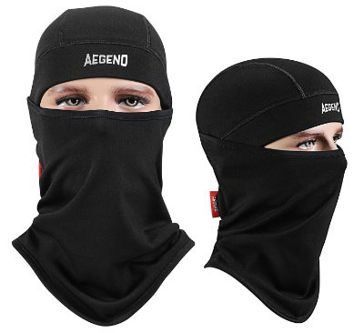 Balaclava Aegend Windproof Ski Face Mask Winter Motorcycle Neck Warmer, 1 Piece