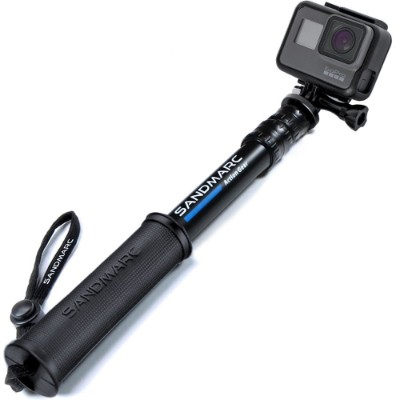 SANDMARC Pole - Compact Edition 10-25 Telescoping Pole (Selfie Stick) for GoPro Hero