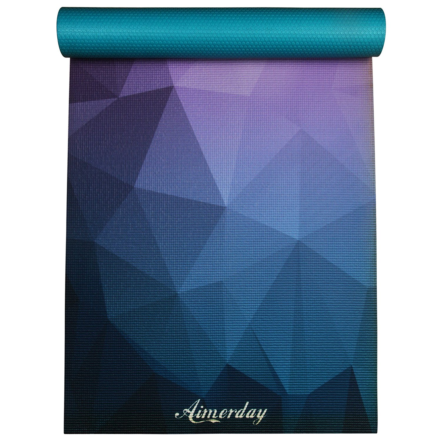 yoga gaiam unique reviews mats colors designs review yogauthority printed print and mat