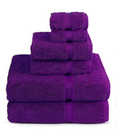 6 Piece Turkish Luxury Turkish Cotton Towel Set