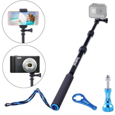 Smatree SmaPole S1 All-aluminum Alloy Handheld Telescopic Pole for GoPro Hero