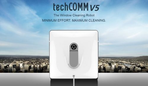 TechComm V5 Remote-Controlled Window Cleaning Robot, robot window cleaning