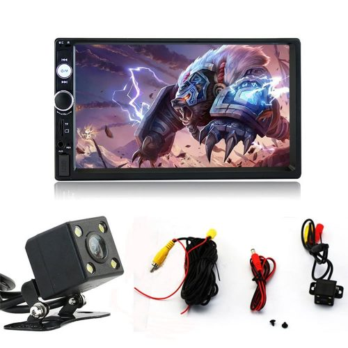 7 Inch Double Din Touch Screen Car Stereo MP5/MP4/MP3 Player FM Radio Car Audio Bluetooth