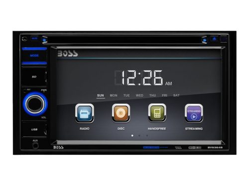 BOSS Audio BV9364B Double Din, Touchscreen, Bluetooth-Double Din Radios