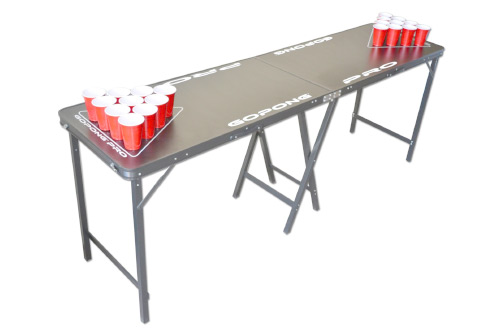 GoPong PRO 8 Foot Premium Beer Pong Table