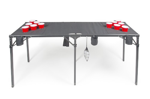 Portable Beer Pong Table- Collapsible Regulation Size