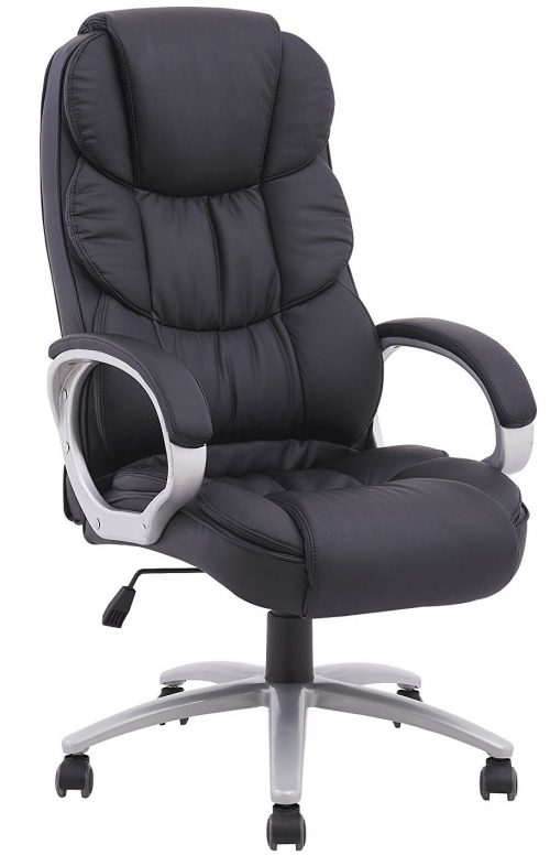 Best Ergonomic Pu Leather High Back Comfortable Office Chairs