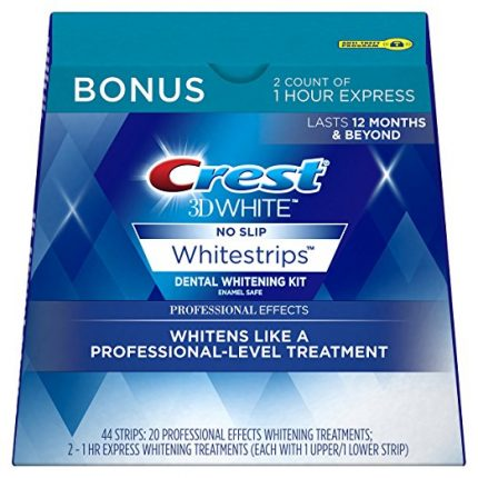 Crest 3D White Professional Effects Whitestrips Whitening Strips Kit