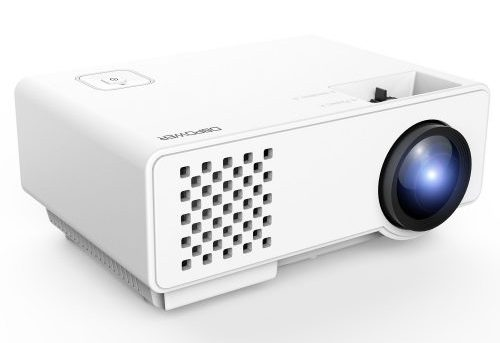 DBPOWER RD-810 1200 Lumens LED Portable Projector, Multimedia Home Theater-Projectors