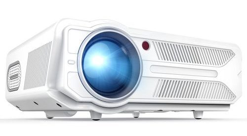 DBPOWER RD-819 Projector, 3200 Lumens LCD Video Projector