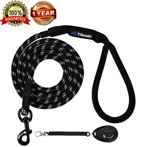 Dog Leashes for Medium and Large Dogs Mountain Climbing Rope Dog Leash 6 ft Long Supports