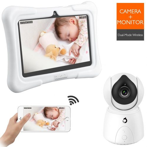 Dragon Touch FUTURE 1 720P Baby Monitor with 7 Inch IPS LCD Touch Screen Tablet