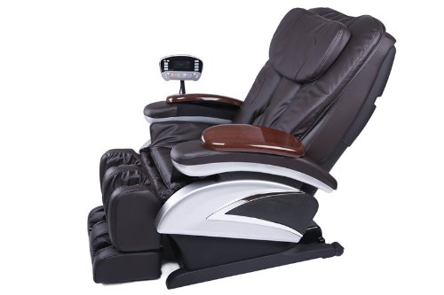 Electric Full Body Shiatsu Brown Massage Chair-Massage Chairs