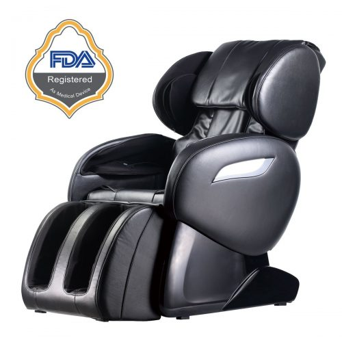 Electric Full Body Shiatsu Massage Chair Foot Roller Zero Gravity