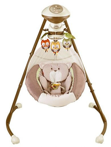 Fisher-Price My Little Snugabear Cradle 'N Baby Swing