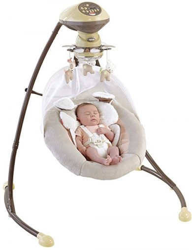 Fisher-Price My Little Snugapuppy Cradle 'n Swing, Baby Swings