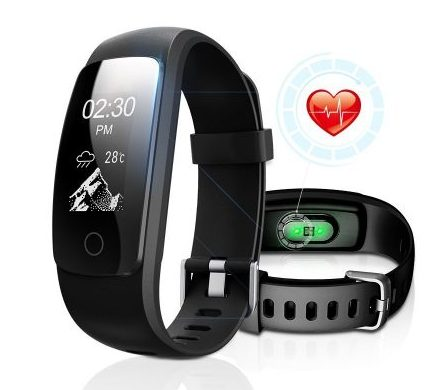 Fitness Tracker with Heart Rate Monitor, DBFIT Activity Tracker Smart Watch