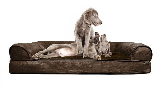 FurHaven Orthopedic Dog Couch - Sofa Pet Bed for Dogs