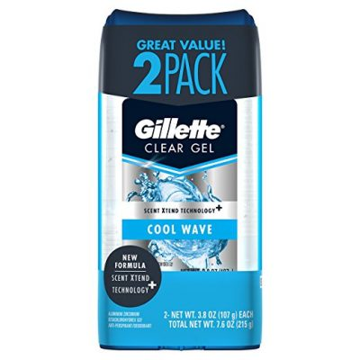Gillette Cool Wave Clear Gel Men's Antiperspirant