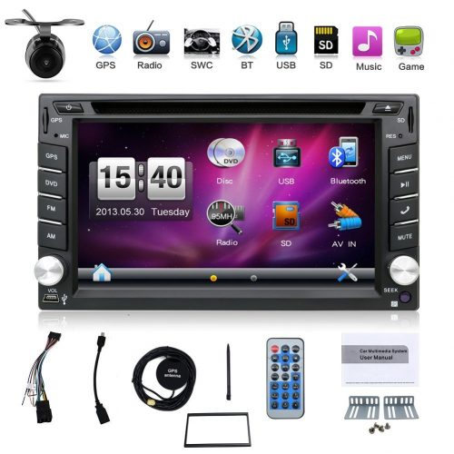 Hot selling product 6.2-inch Double DIN in Dash Car Dvd Player Car Stereo Touch Screen