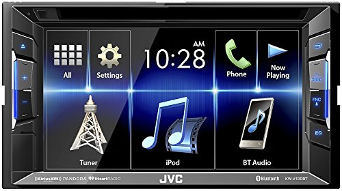JVC KW-V130BT Double DIN Bluetooth In-Dash