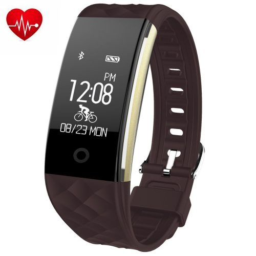 Juboury Heart Rate Activity Tracker Touch Screen Wearable Pedometer Bluetooth Smart