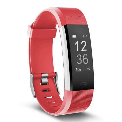 MoreFit Slim HR Plus Heart Rate Smart Bracelet Pedometer Wearable Waterproof Activity Tracker Watch