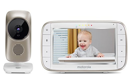 Motorola MBP845Connect Video Baby Monitor with Wi-Fi