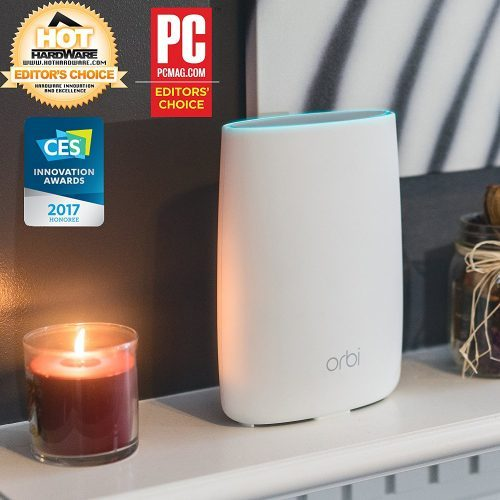 NETGEAR Orbi Whole Home Mesh WiFi System with Tri-band