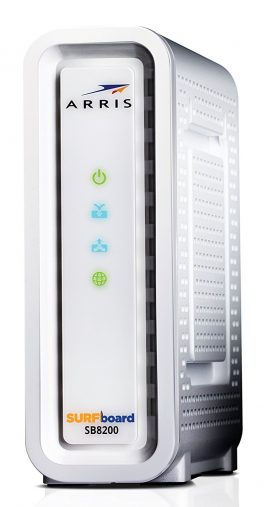 Next-Generation ARRIS SURFboard SB8200 DOCSIS 3.1 Cable Modem
