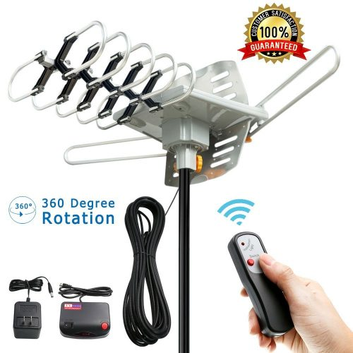 Outdoor Amplified HD Digital HDTV Antenna