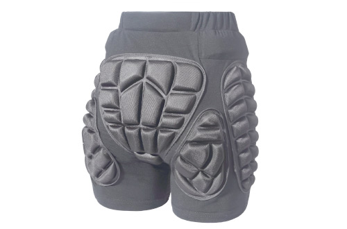 3D Protection Hip EVA Padded Short Pants Unisex Adult Children Protective Gear