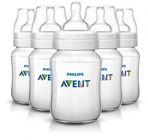 Philips Avent Anti-colic Baby Bottles Clear
