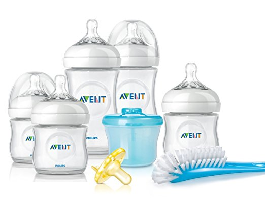 Philips Avent Natural Newborn Baby Bottle Starter Set,